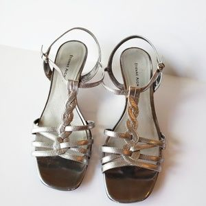 Etienne Aigner Tanya Leather Sandals